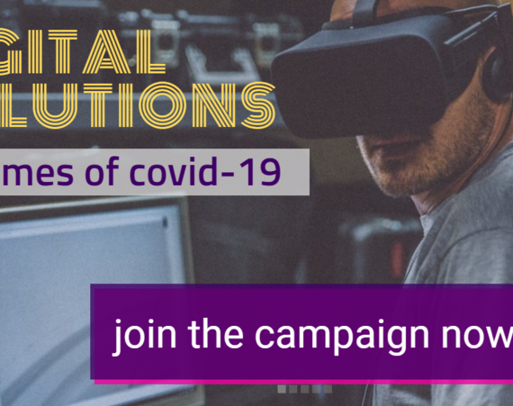 Join the campaign: DIGITAL SOLUTIONS in times of COVID-19