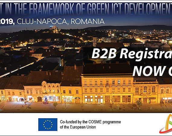 "B2B EVENT ""Shaping together a smarter and greener future!"""