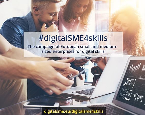 Pledges by the campaign #digitalSME4skills reach 4.000 new ICT professionals