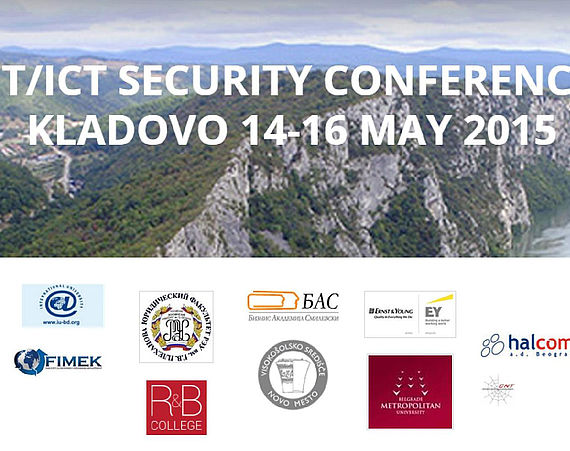 IT/ICT Security Conference Kladovo 14–16 May 2015