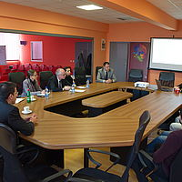 Visit of the German Ambassador to the ICT Cluster of Central Serbia