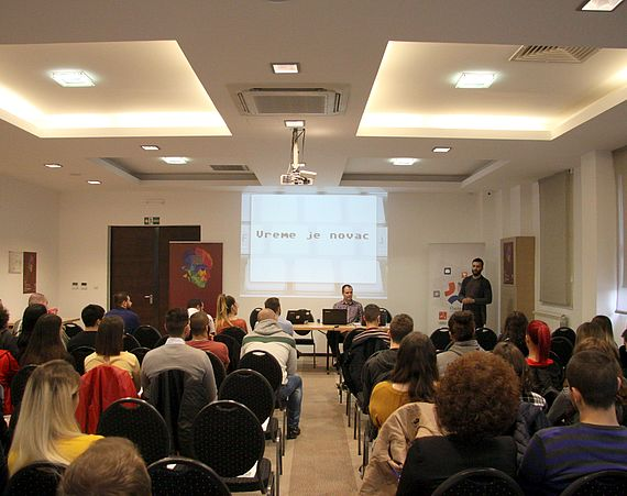 "Successfully organized event: ""I, PROGRAMMER - Challenges and Chances"""